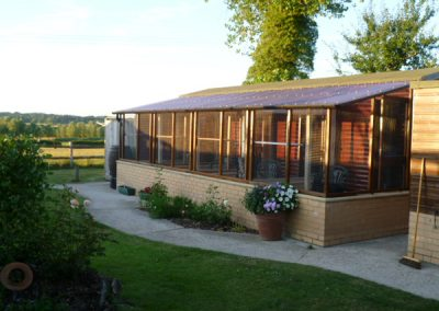 Cattery East Sussex countryside view 600